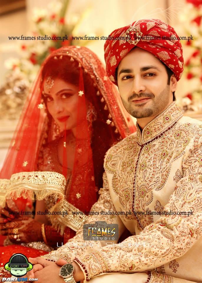 Ayeza Khan And Danish Taimoor S Baraat Wedding Pictures