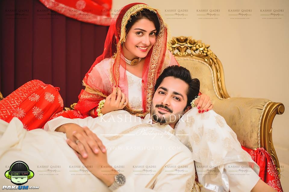 Ayeza Khan And Danish Taimoor Got Married Nikkah Pictures