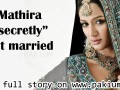 mathira married, wedding photos