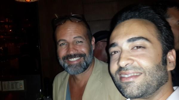 Billy Zane & Farhad Humayun