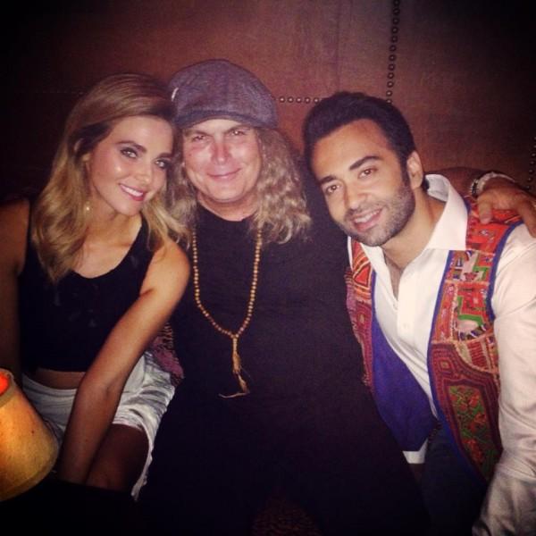 Lanny Cordola, Farhad Humayun & Guest