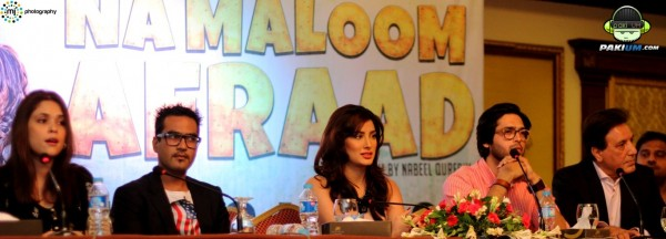 Cast of Namaloom Afraad