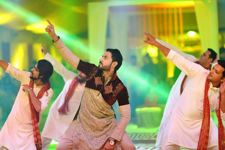 Mustafa Zahid dance performance in his wedding