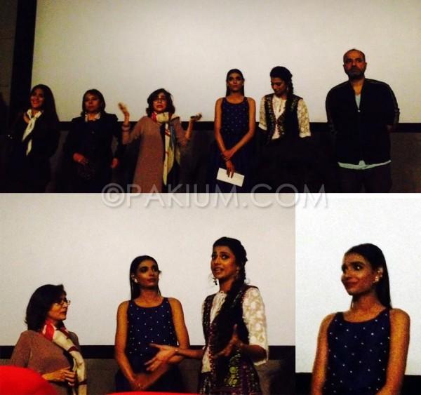 good morning karachi movie screening with cast