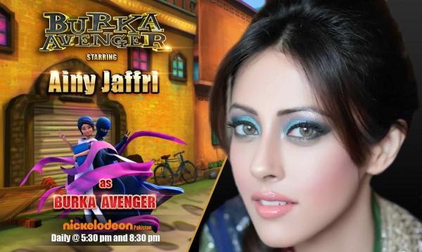 Ainny Jafri Burka Avenger