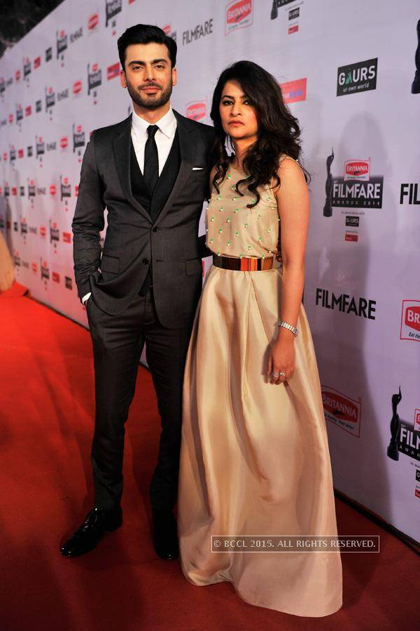 Fawad Khan with Wife Sadaf