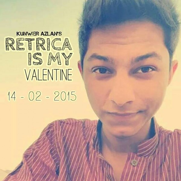 kunwer-azlan-retrica-is-my-valentine