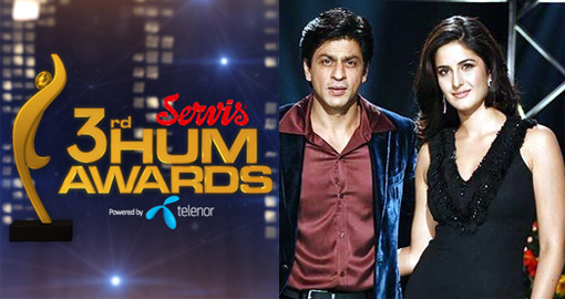 3rd hum awards hosted by Shahrukh Khan and Katrina Kaif