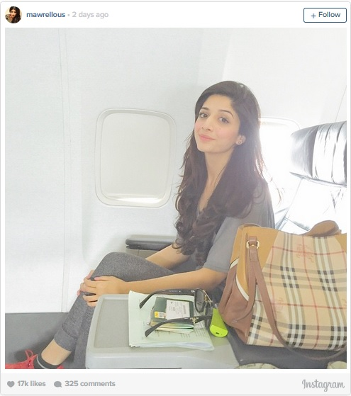 After Mahira, Mawra Hocane steps out in Mumbai