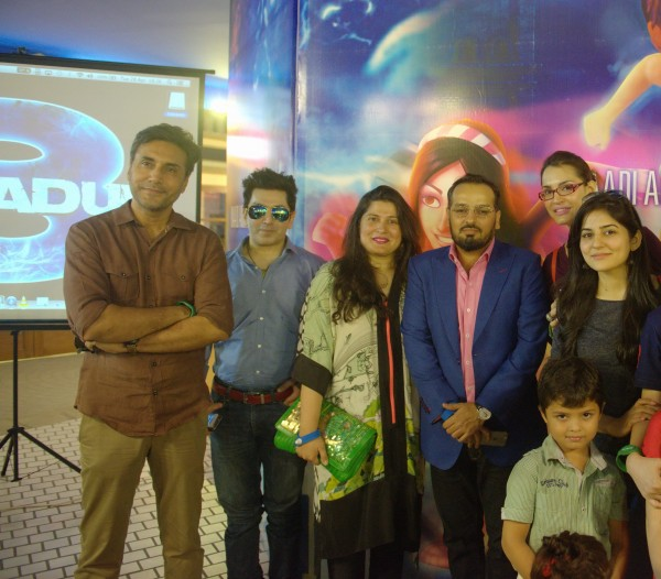 Adnan Siddiqui, Faakhir, Sharmeen Obaid-Chinoy, Jerjees Seja, Nadia Hussain and Sanam Baloch