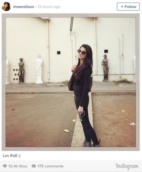 Mawra Instagram lets roll