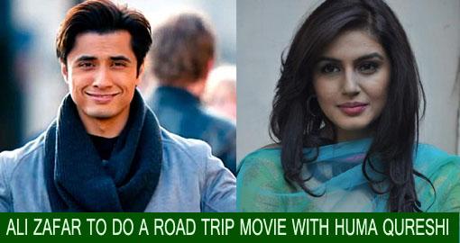 Ali Zafar to do a road trip movie with Huma Qureshi