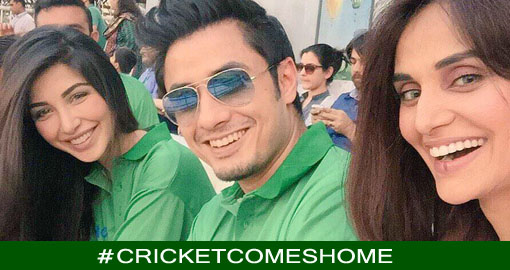 #CricketComesHome