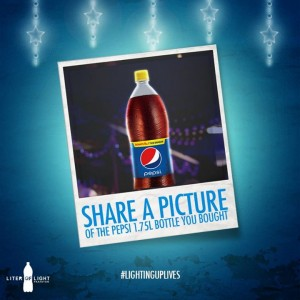 Pepsi #LightingUpLives