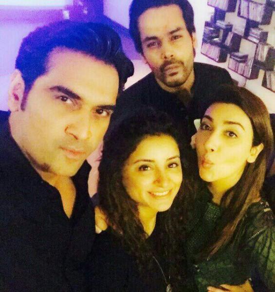 [L to R] Humayun, Sarwat Gillani, Ayesha Khan, Gohar Rasheed
