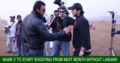 Waar 2 to start shooting from next month without Lashari
