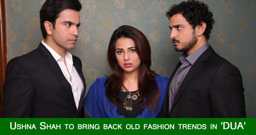 Ushna Shah brings back old fashion trends in Dua