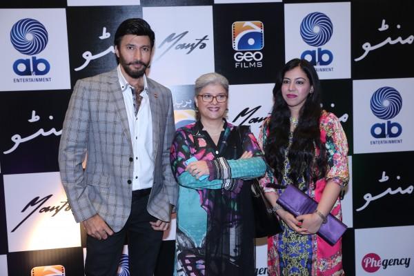 Aijaz, Marina and Saba Khan