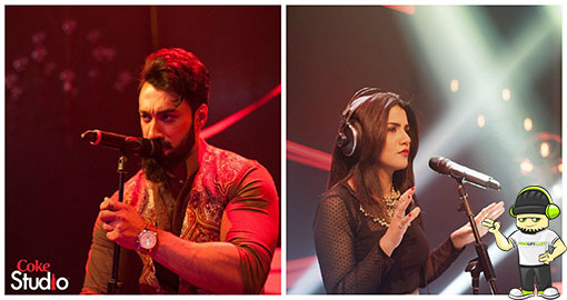 umair-jaswal-and-quratulain-blouch-sammi-meri-waar-coke-studio-season-8-episode-2