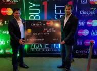 Cinepax Cinema Mastercard offer