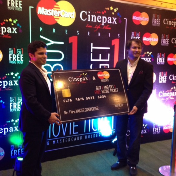 Cinepax Cinema and Mastercard