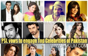 Top Pakistani Stars and Celebrities in Super League