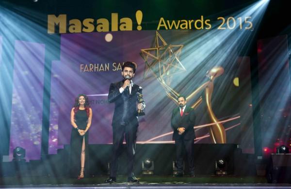 Farhan Saeed Masala Awards 2015 1