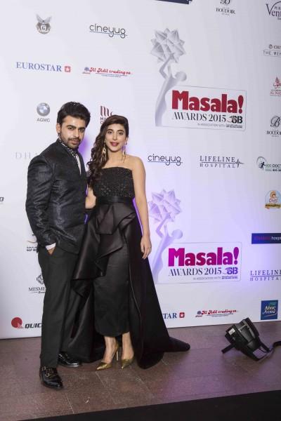 Farhan Saeed Urwa Hocane Masala Awards 2015