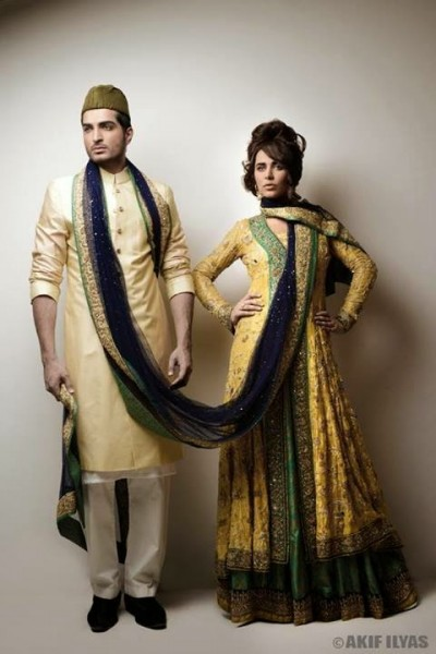 Omer Shahzad & Ayyan photoshoot for the Nation sunday plus (2)