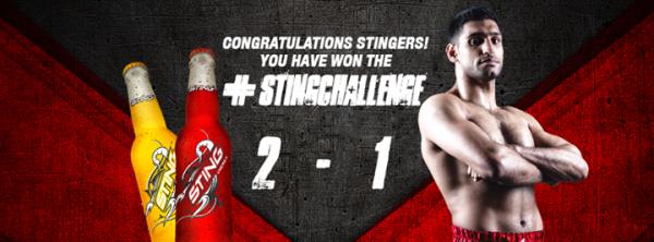 Sting Challenge Result