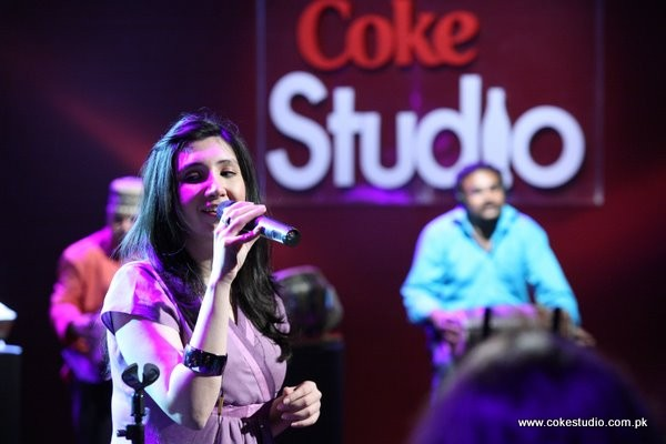 Zeb Bangash in Coke Studio