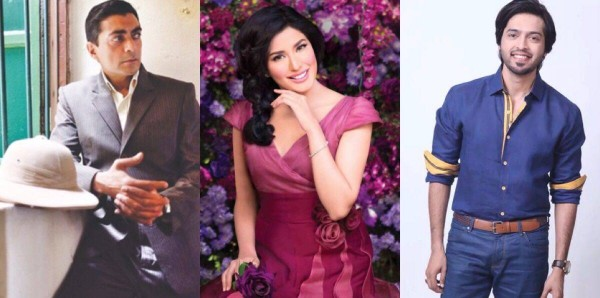 Actor in Law cast Fahad Mustafa, Mehwish Hayat and Aly Khan