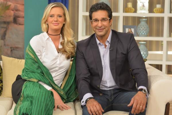 Waseem Akram Shenira Nadia Khan Show (3)