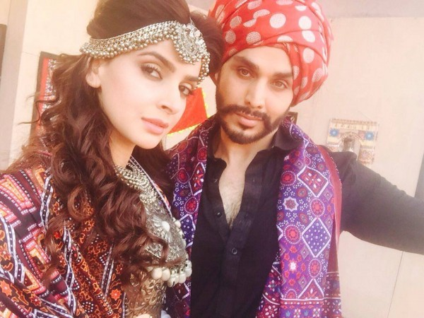 Ahsan Khan with Saba Qamar