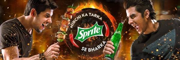 Ali Zafar and Siddharth Malhotra in Sprite Ad