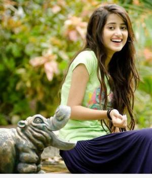 Sajal Ali candid shoot