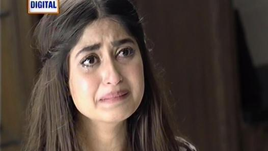 Sajal Ali crying scene in Chup Raho