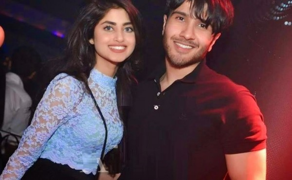 Sajal Aly with Feroze Khan