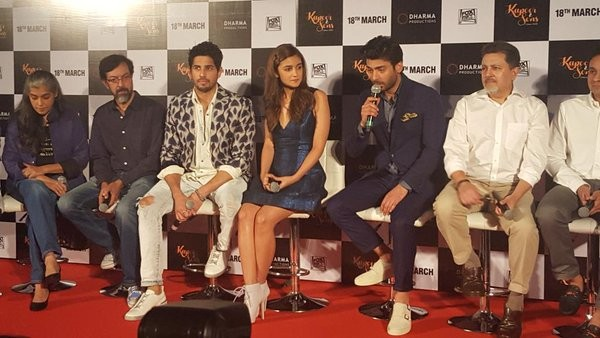 Kapoor and Sons Trailer Launch Event