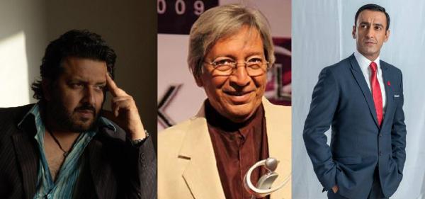 Rehan Sheikh, Talat Hussain and Adnan Jaffer.