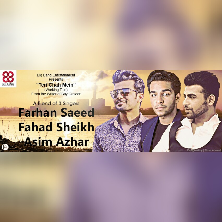Farhan Saeed Fahad Sheikh Asim Azhar Will Share A Screen For Big Bangs Project