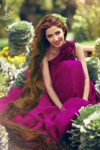 1. Mahira khan as repunzel