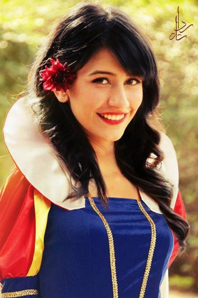 3. Syra yousuf as Snow white