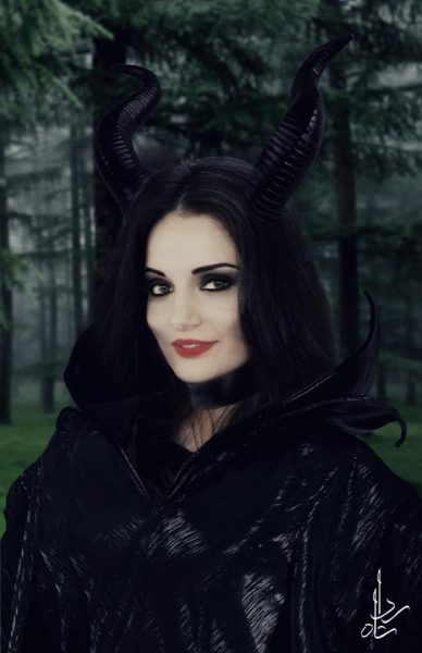 4.Armeena Khan As Maleficent