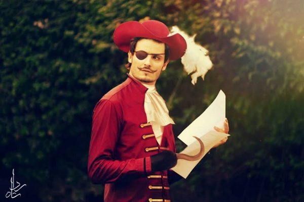8. Osman Khalid butt as Captain Hook