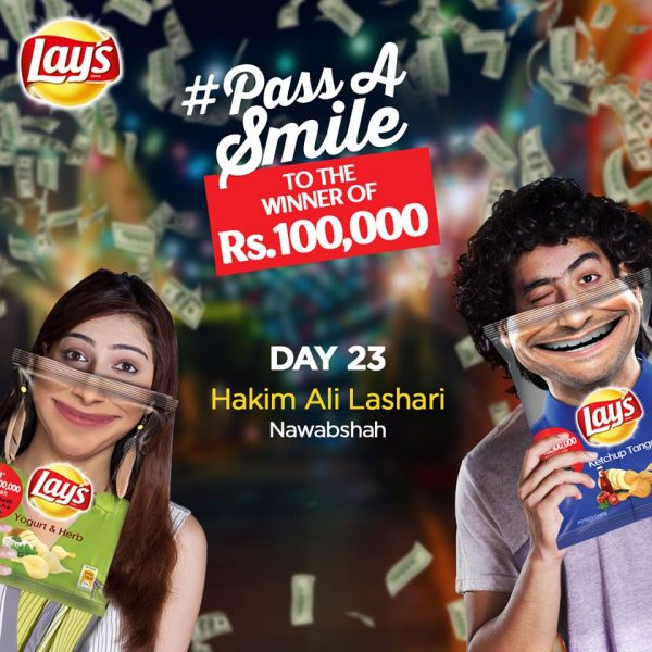 Winners of Lays Pass A Smile Campaign