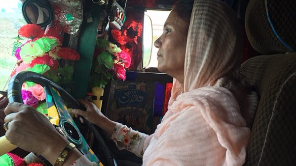 Shamim Akhtar - Pakistan's first female truck driver