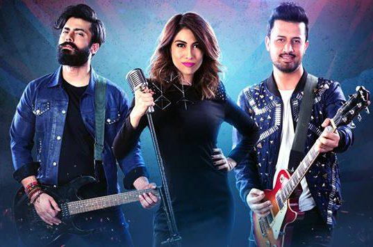 Pepsi Battle Of the Bands featuring Fawad Khan, Meesha Shafi and Atif Aslam