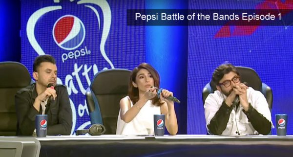 Pepsi Battle of the bands Episode 1