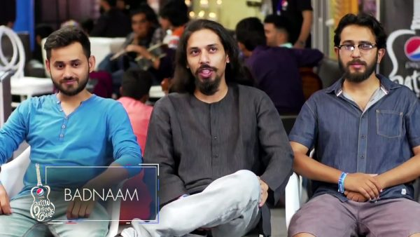 Badnaam Band in Pepsi Battle of the Bands